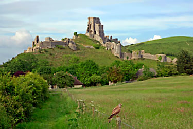 picture of corfe castle