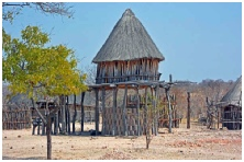 Village Grain Store near Masumu Zimbabwe